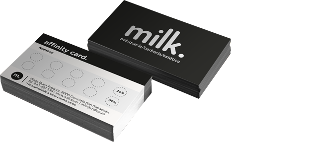 Milk Affinity Card